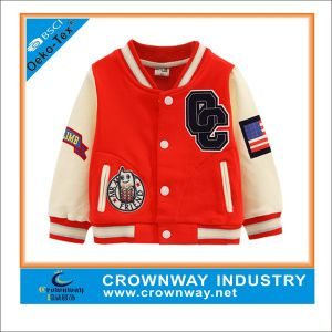 2015 Fashion Design American Baseball Jackets for Children pictures & photos