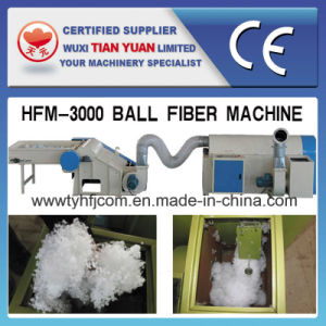 Pearl Polyester Staple Ball Fiber Machine (HFM-3000) pictures & photos