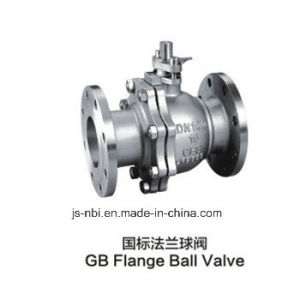 GB Flange Stainless Steel Ball Valve pictures & photos