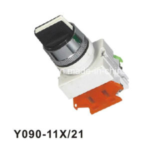 Y090-11X/21 Two or Three Position Standard Handle Selector Pushbutton Switch pictures & photos