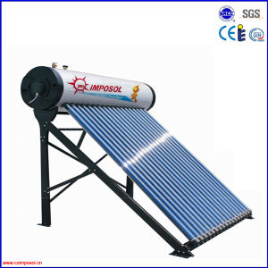 Vacuum Tube Heat Pipe Pressure Solar Water Heater pictures & photos