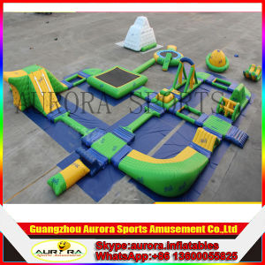 Inflatable Water Toys Park/Inflatable Floating Water Park with Slide