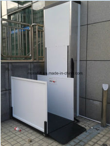 Vertical Wheelchair Platform Lift for Disabled pictures & photos