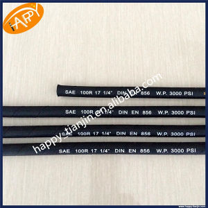 Wire Braid Abrasion Resistant Hydraulic Hose R17 pictures & photos