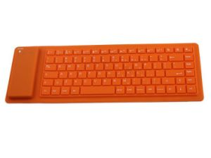 78keys Flexible Wireless Bluetooth V3.0 Keyboard for Tablet iPad iPhone pictures & photos