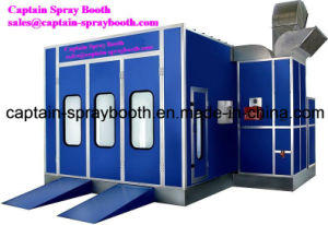 Burner Heating Car Paint Booth Paint Chamber/Car Spray Paint Oven pictures & photos