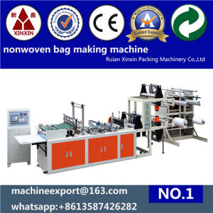 Nonwoven Handle Bag Making Machine Nonwoven Bag Making Machine pictures & photos