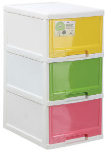 with or Without Wooden Top Large Plastic Storage Cabinet pictures & photos