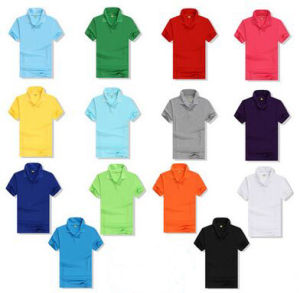 Custom Unisex Polo T Shirt in Various Colors, Sizes, Designs and Materials pictures & photos
