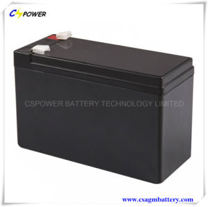 12V7ah UPS AGM Battery, 12V UPS Lead Acid Battery pictures & photos