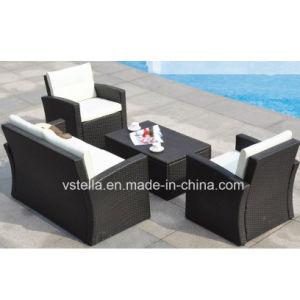 Pool Garden Wicker Patio Outdoor Rattan Sofa Set pictures & photos