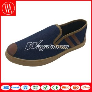 Leisure Flat Women Shoes & Plain Men Canvas Casual Shoes