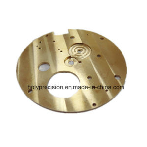 Machining Parts for Watch Main Plate pictures & photos