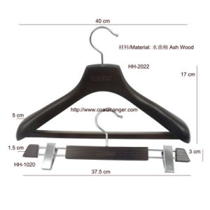 Thick Luxury Wooden Clothes Hanger pictures & photos