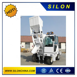 4.0m3 Concret Mixer Truck/ Feeding Mixer Truck with 4WD pictures & photos