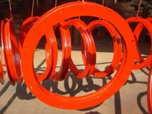 Semi Trailer Ball Bearing Turntable pictures & photos