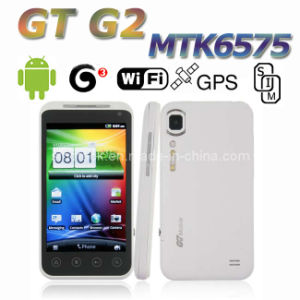 Newest 3G MTK6575 GT G2 4.0 Inch Android 2.3 GPS WiFi Capacitive Screen Smart Phone
