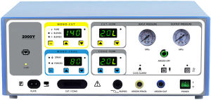 Med-Esu-2000y (LED) Argon Esu Unit, Bipolar Coagulator and Cutter pictures & photos
