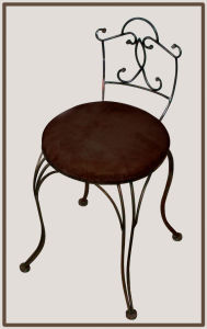 Modern Living Room Stool with Craft Back pictures & photos