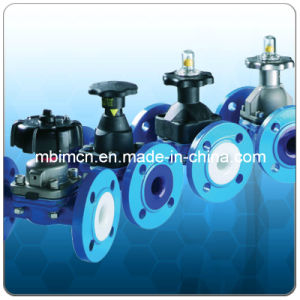 ANSI Standard Plastic Lined Diaphragm Valve pictures & photos