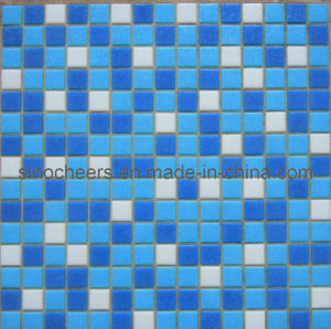 Swimming Pool Tile Bathroom Wall or Floor Decoration Glass Mosaic Tiles pictures & photos