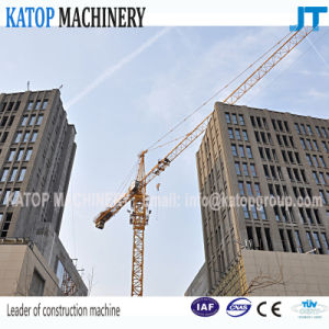 ISO & Ce Certificated Tc5610 Double Gyration 6t Load Tower Crane for Construction Machinery pictures & photos