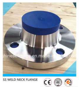 ANSI Welding Neck Stainless Steel 321 304 Pipe Flange pictures & photos
