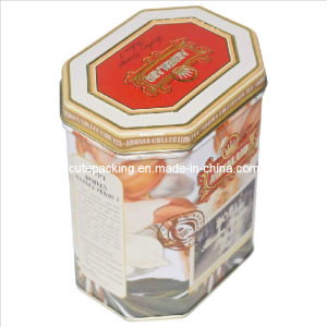 FDA Approved Octagonal Tea Tin Box (TB11)
