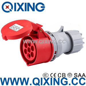 IP44 16A 7pole Waterproof Industry Coupler (QX746) pictures & photos