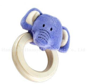 Factory Supply Baby Stuffed Plush Handbell Animal Rattle Toy pictures & photos