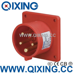 Economic Type Panel Plug with International Standard (QX-815) pictures & photos