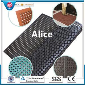 Antibacterial Floor Mat/Drainage Rubber Mat/Oil Resistance Rubber Mat pictures & photos