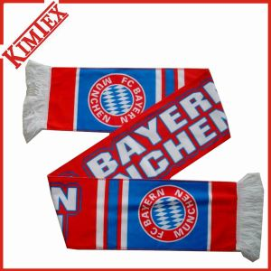 Double Layer Polar Fleece Digital Sublimation Printing Football Scarf pictures & photos