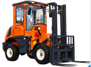 Rough Terrain Forklift for Sale pictures & photos