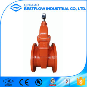 Cast Iron Knife Gate Valve with Flow Direction Pn10 pictures & photos