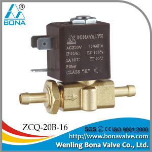 Hose Tail 6.5mm Solenoid Valve (ZCQ-20B-16) pictures & photos