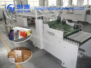 Automatic Shopping Kraft Paper Bag Machine Made in China pictures & photos