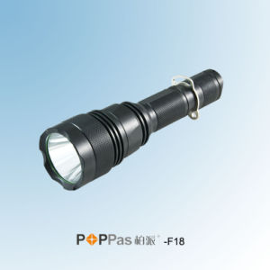 Rechargeable CREE Xm-L T6 High Power LED Torch (POPPAS- F18) pictures & photos