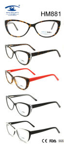 Handmade Colorful Cat Fashion Frame Acetate Eyeglasses (HM881) pictures & photos