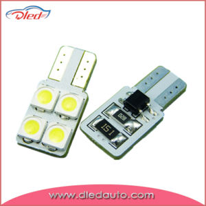 Lowest Defect Rate T10 Wedge 5050 Bulb Canbus LED Car Light pictures & photos