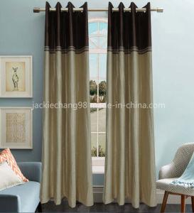 Jacquard Blackout Grommet Panel Curtain pictures & photos