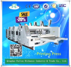 2 Color Flexo Corrugated Board Carton Box Printing Machine pictures & photos