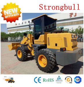 China Construction Machine 1.8t Zl30 Front Wheel Loader for Sale pictures & photos