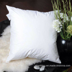 Hotel Soft Bedding Pillow Decorative Cotton Cushion pictures & photos