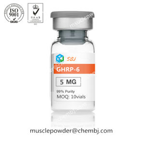 Growth Hormone Releasing Hexapeptide Ghrp-6 Ppetides 10mg/Vial