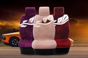 Universal Sideless Short Wool Sheepskin Car Seat Cover pictures & photos