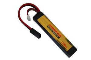 Firefox 11.1V 1100mAh Li-Po Li-Polymer Military Battery 15c pictures & photos