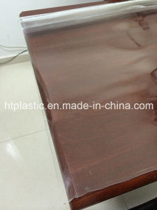 Crystal PVC Sheet Used for Table Cloth and Different Size pictures & photos