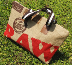 Durable Printing Linen Shopping Shoulder Bag pictures & photos