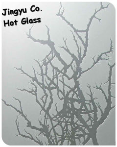 Good Quality Frosted Glass with ISO/SGS Certificate pictures & photos